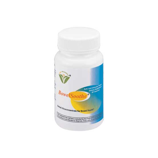 BowelSoothe Capsules®-Helps Maintain Healthy Intestines and Bowel
